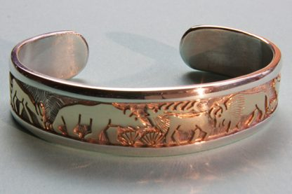 Watson Honanie Bracelet Deer Bear Elk Buffalo Wolf